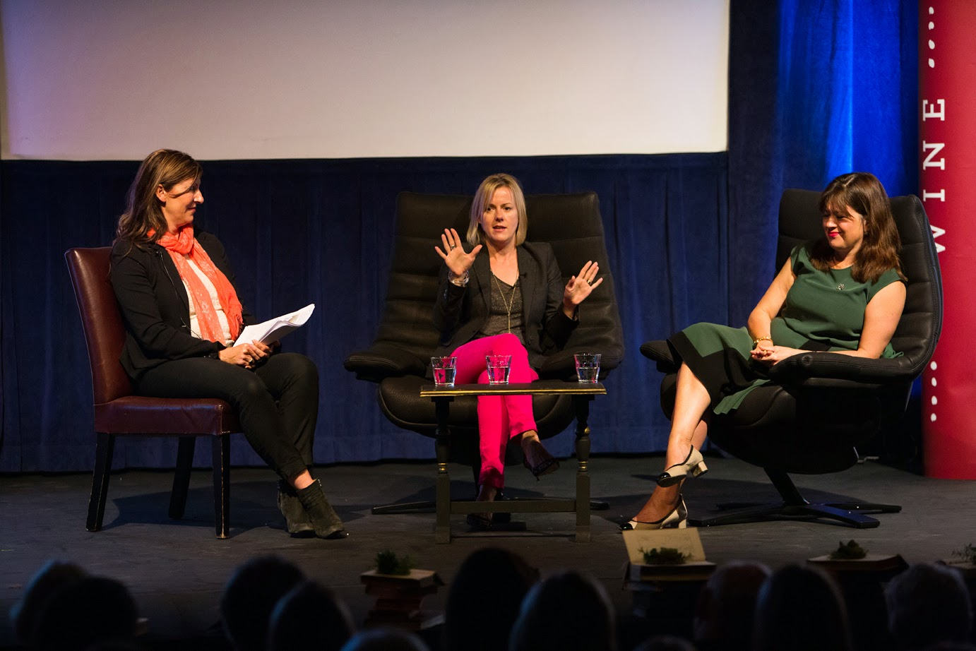 Lucy Cavendish interviews Jojo Moyes and Daisy Goodwin at the Henley Literary Festival
