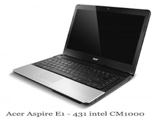 laptop murah Acer Aspire E1 - 431 intel CM1000