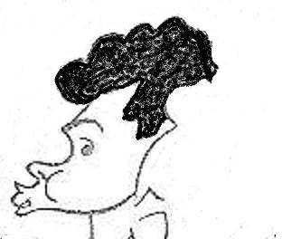 Caricatura de Joaquim Durão