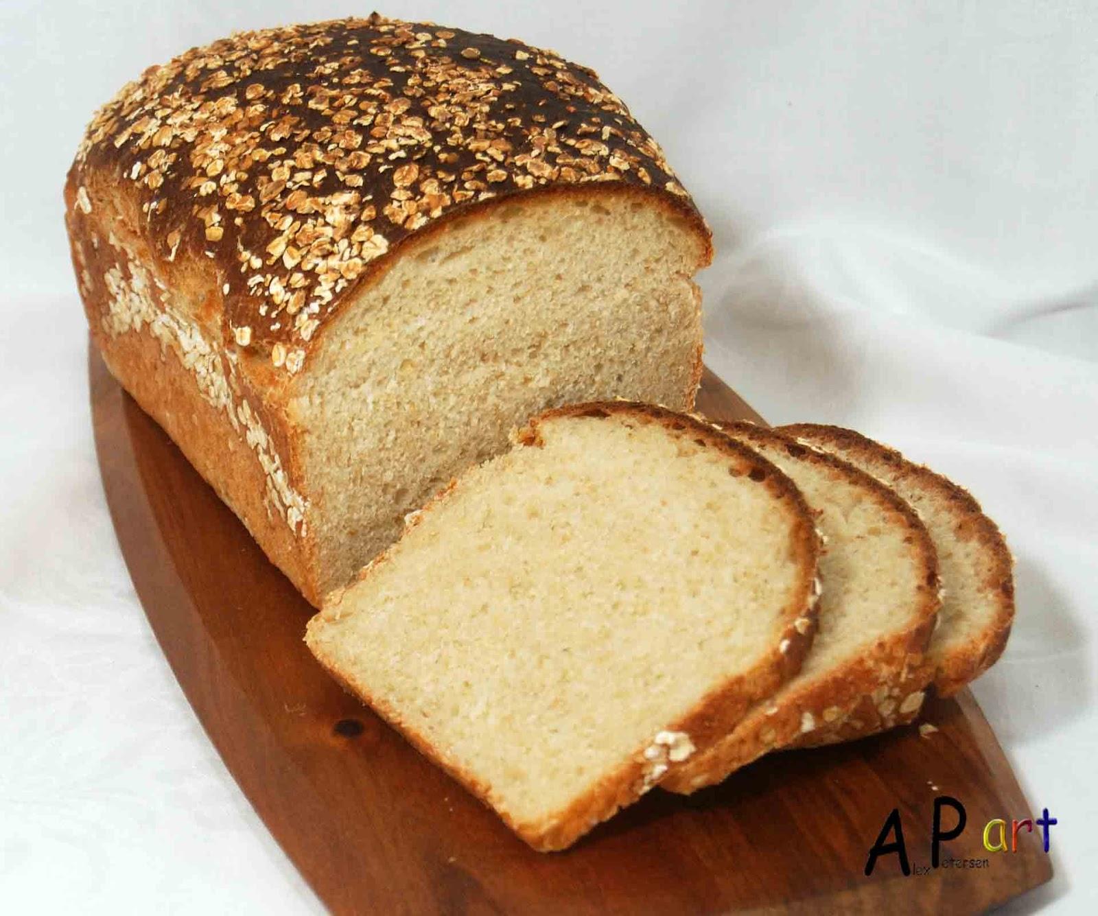Alex the Contemporary Culinarian: Buttermilk and Oatmeal Bread