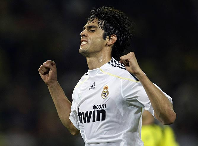 Kaká con el Real Madrid