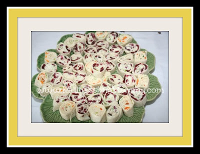 Fancy PinWheel Tortilla Rolls