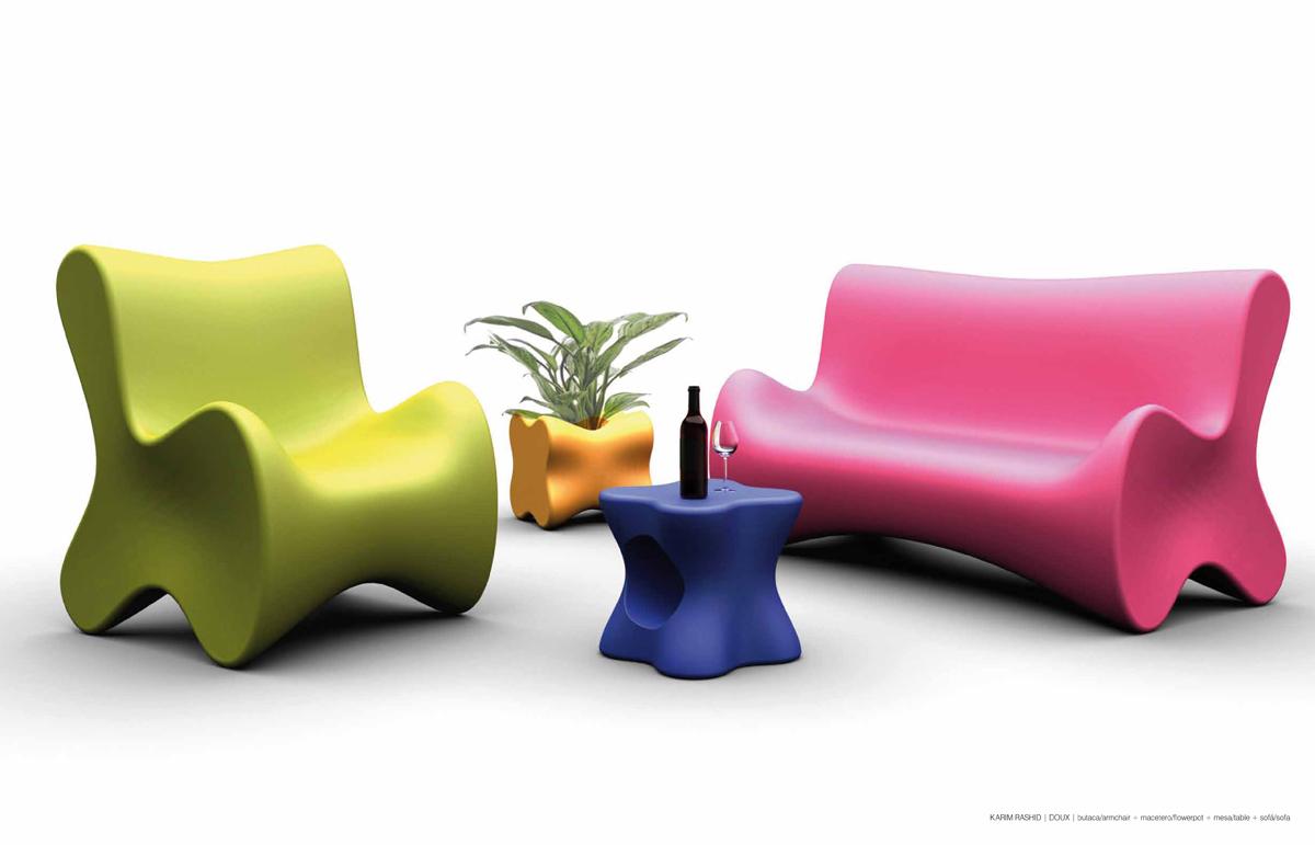 Designer Karim Rashid Les Bons Viveurs L B V