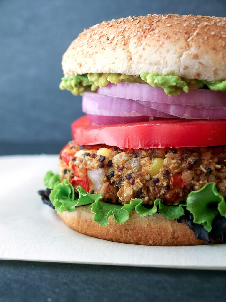 THE SIMPLE VEGANISTA: Quinoa & White Bean Veggie Burger
