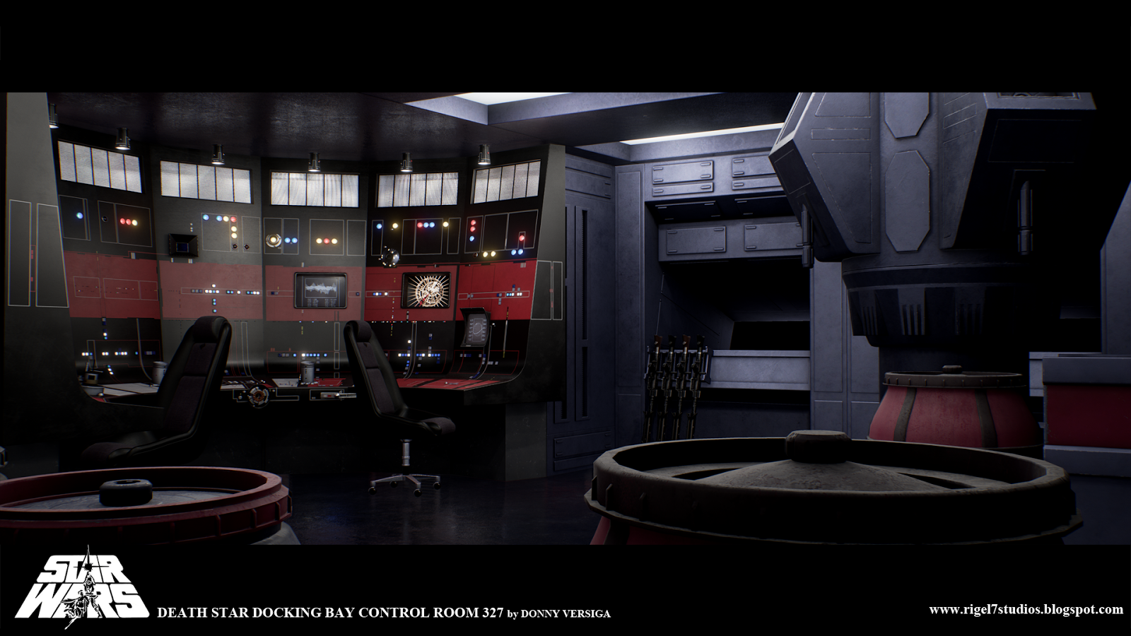 rigel vii death star docking bay control room 327