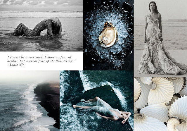 mermaid inspiration board