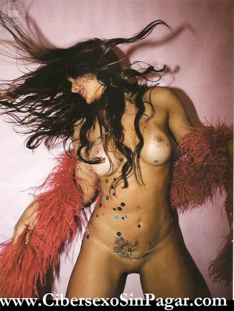 Nana Gouvea desnuda Playboy Huracan Sandy Nueva York