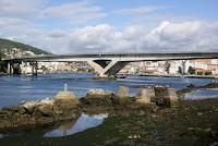 Puente de la AP9 sobre la ría de Pontevedra