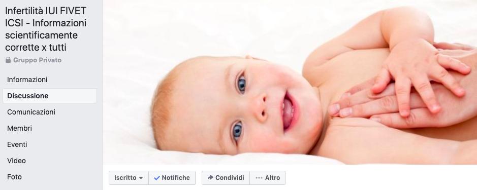 Un nuovo Gruppo Facebook per le Coppie che desiderano un bambino