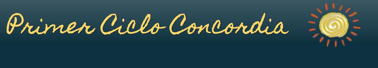 Primer Ciclo Concordia