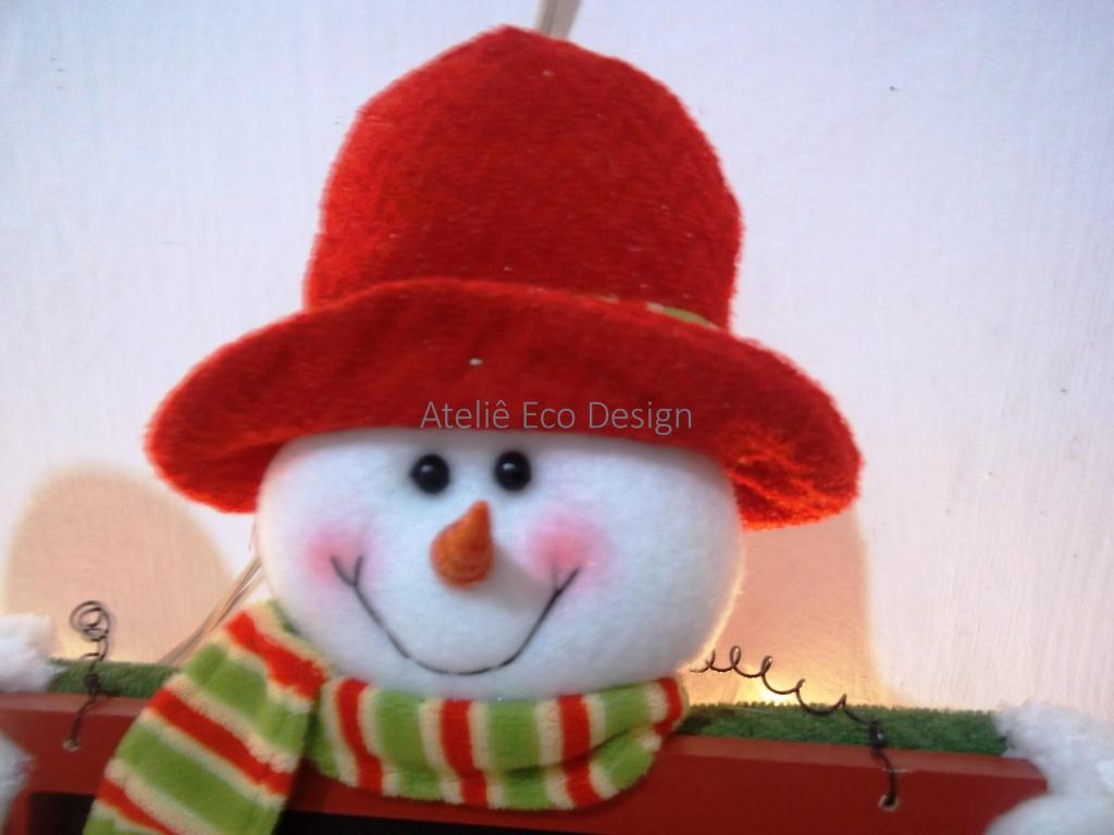 decoracao de arvore de natal simples e barata:Decora%C3%A7%C3%A3o+de+Natal-+boneco+de+neve-+arvore+de+natal