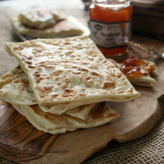 <b>Rghaïf (Moroccan Flat Bread)</b> - Bread Baking Babes