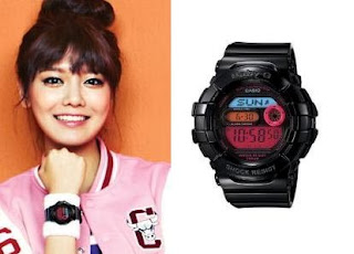 SNSD Sooyoung Casio Baby G Watch Collection