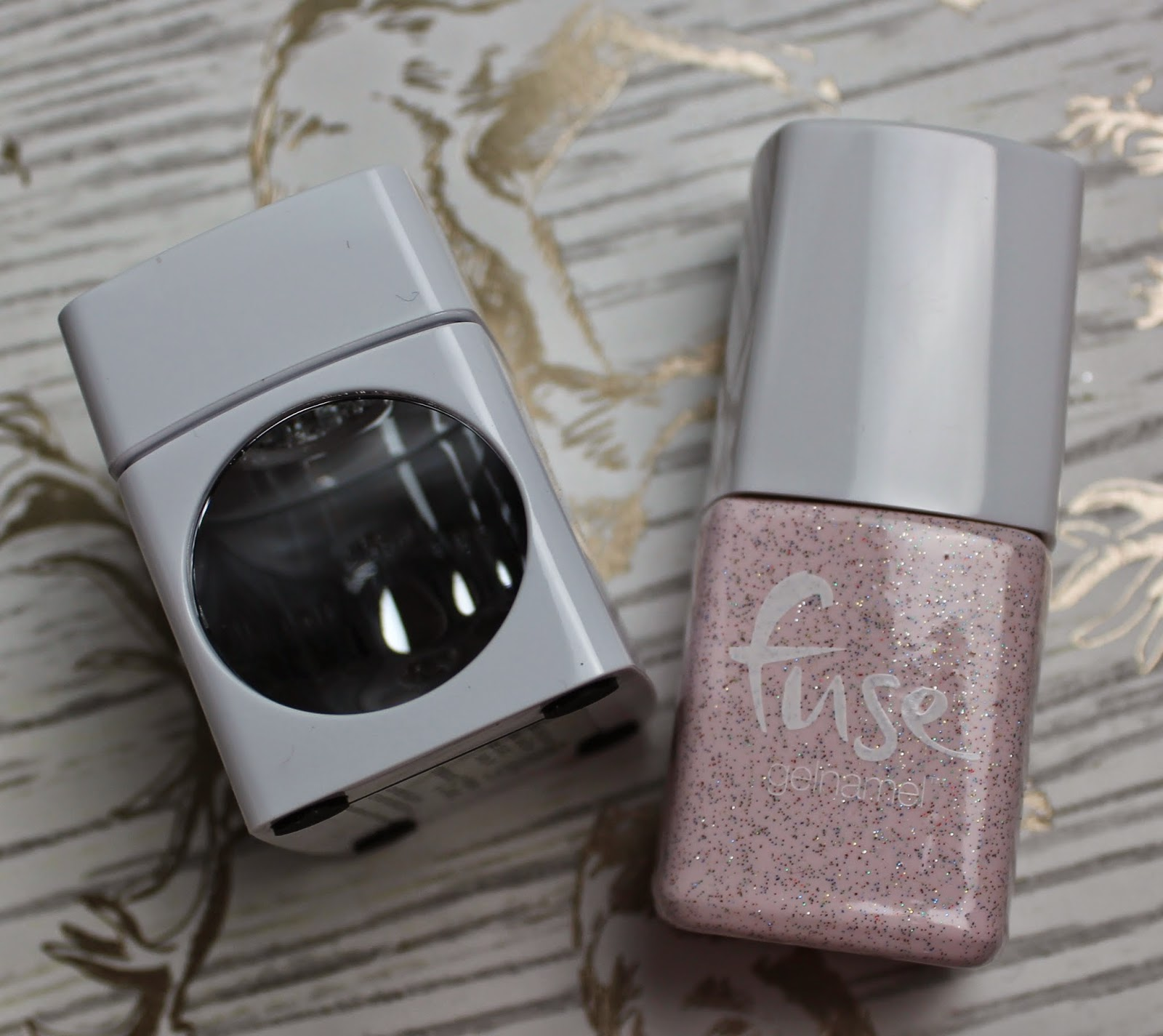 Nails: Sensational Fuse & gone fission glitter pink polish | flutter ...