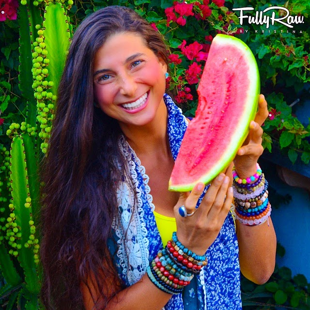 Chatting with fullyraw kristina veggie girl power interview series
