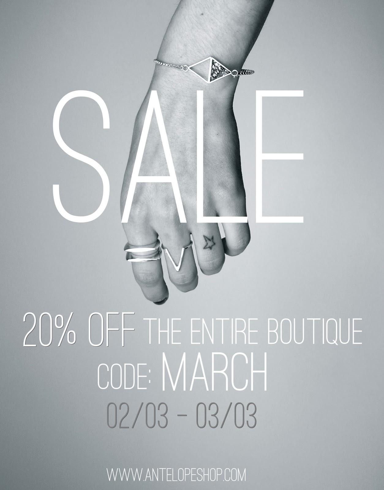 Antelope Shop Soldes boutique Sale reduction entire boutique lexie blush