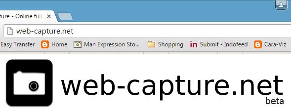 Cara Mengambil Screenshot Satu Halaman Website Penuh Secara Online