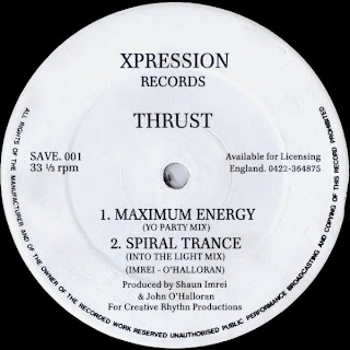 Thrust / Psychic Phenomena - Maximum Energy