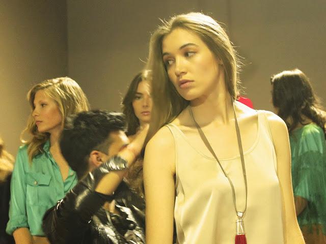 Natalia Torterolo en el back