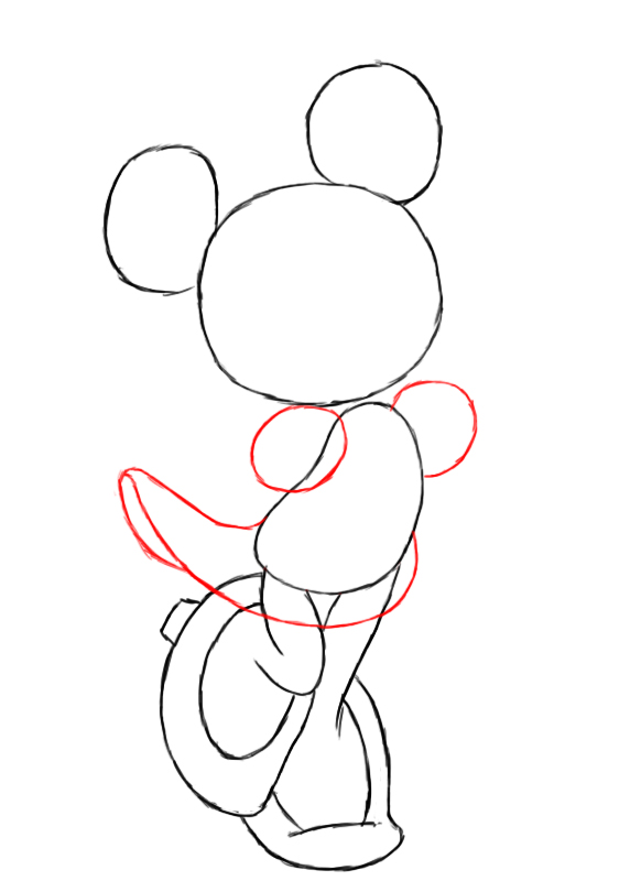 How to draw a mouse step by step easy for How to draw with a mouse