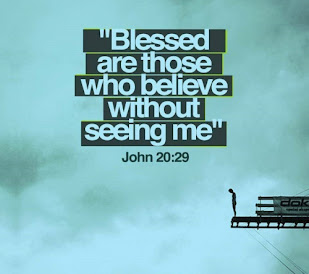 Blessed are those who believe in Yeshua without having seen Him