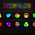 Neon Glow - Icon Pack v3.3 Apk