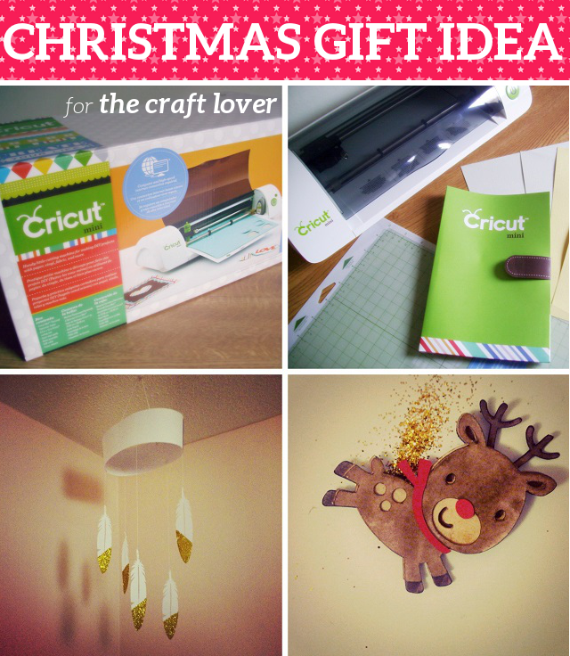 Christmas Gift Idea Cricut Mini Electronic Cutting Machine