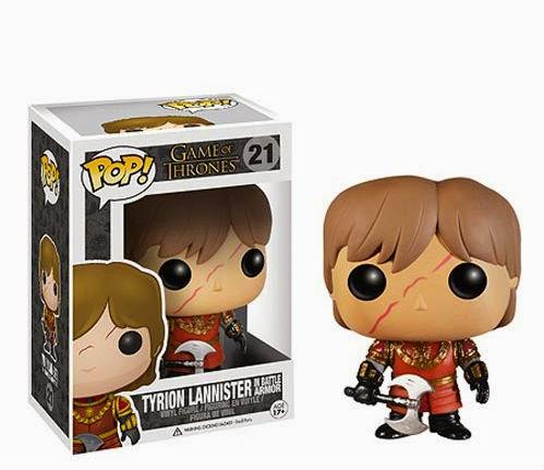 Funko Pop! Tyrion Lannister in Battle Armor