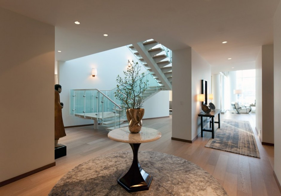 Fairmont pacific rim penthouse interior by robert bailey for Pent house interior