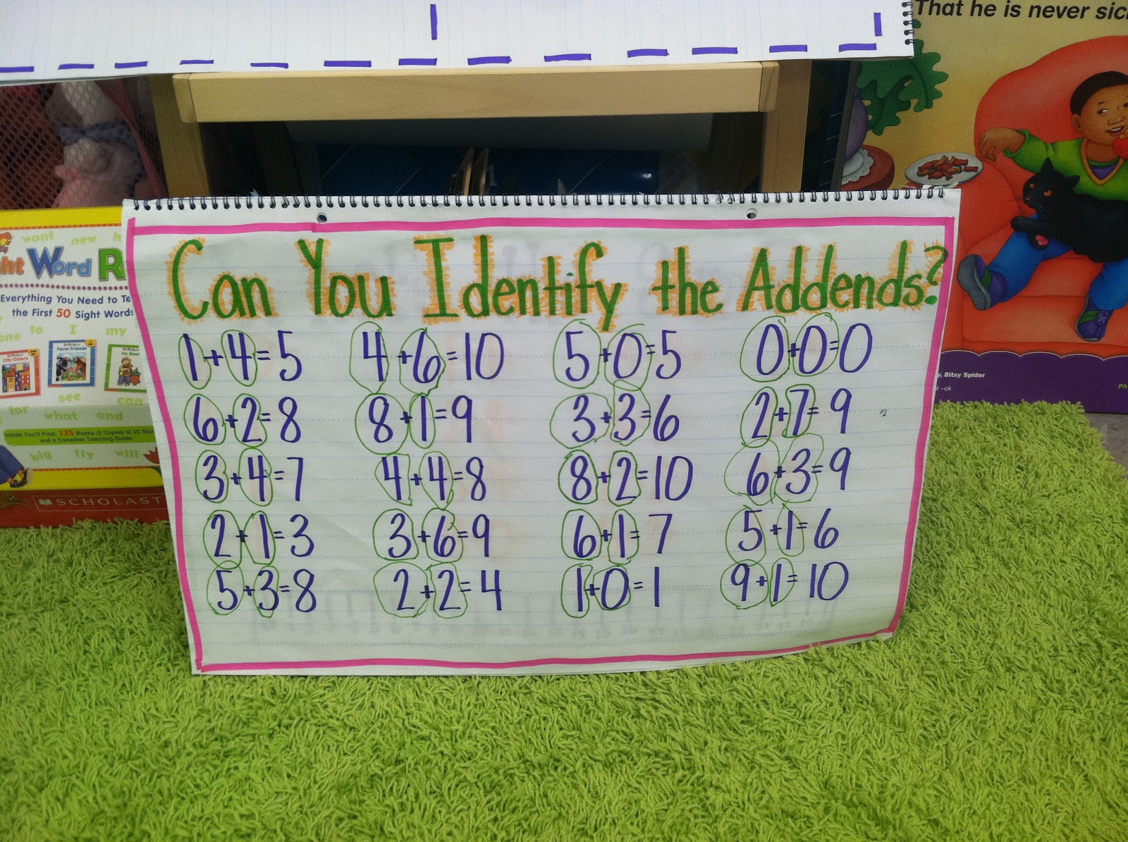 First Grade Story Problems With 3 Addends | Search Results | Calendar ...