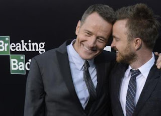 Aaron Paul reveals Bryan Cranston mooned him during the 'Breaking Bad' finale
