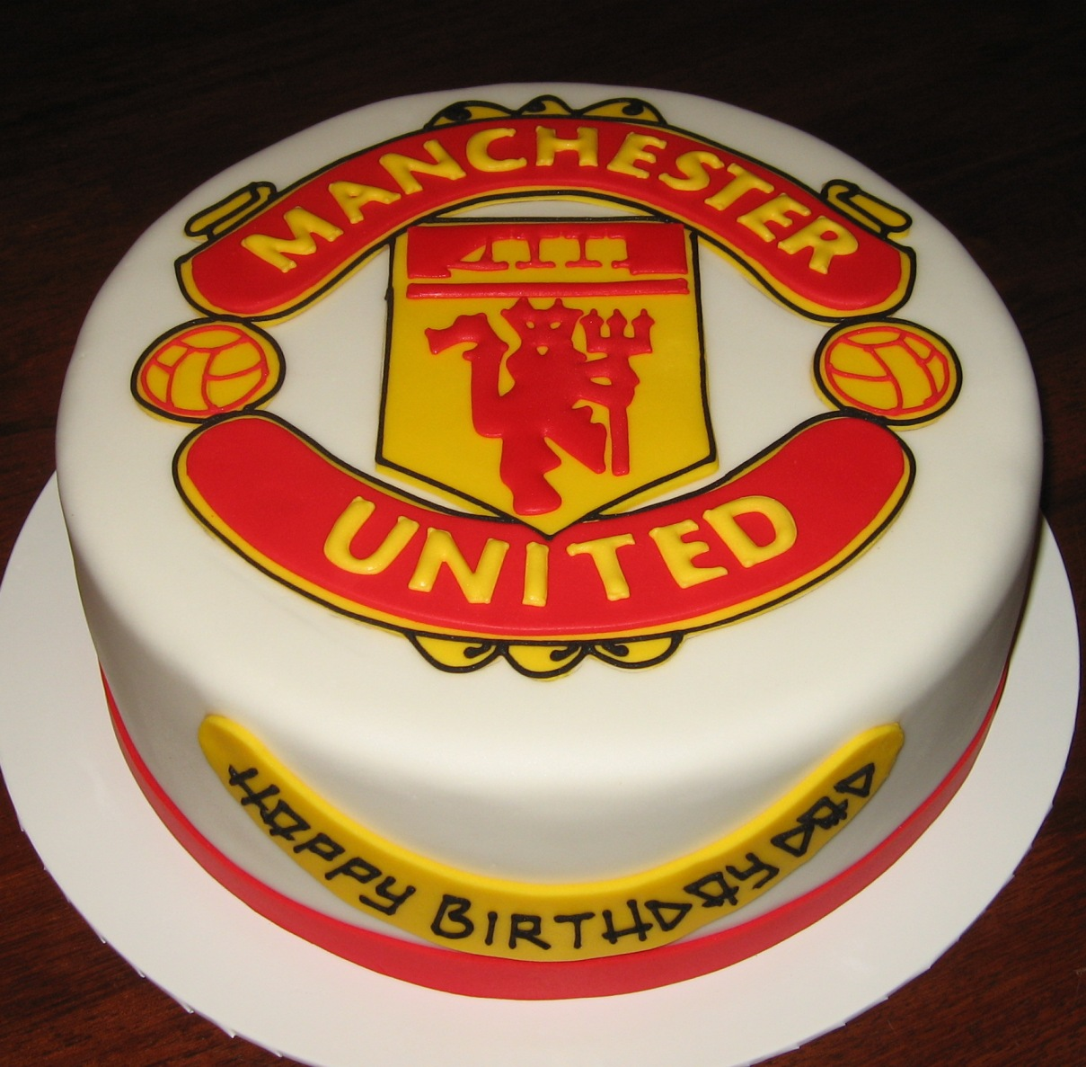 how to make a manchester united t shirt cake