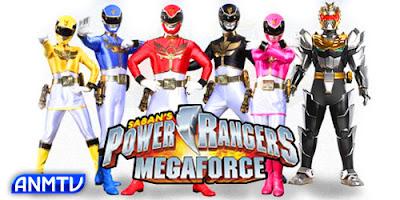 Power Rangers Megaforça