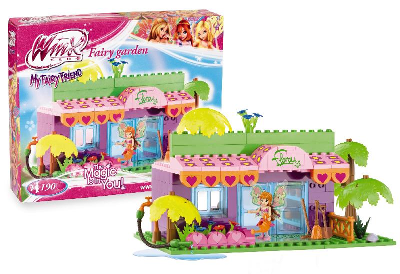 Costruzioni winx da giochi preziosi roy toys for Decora la stanza delle winx