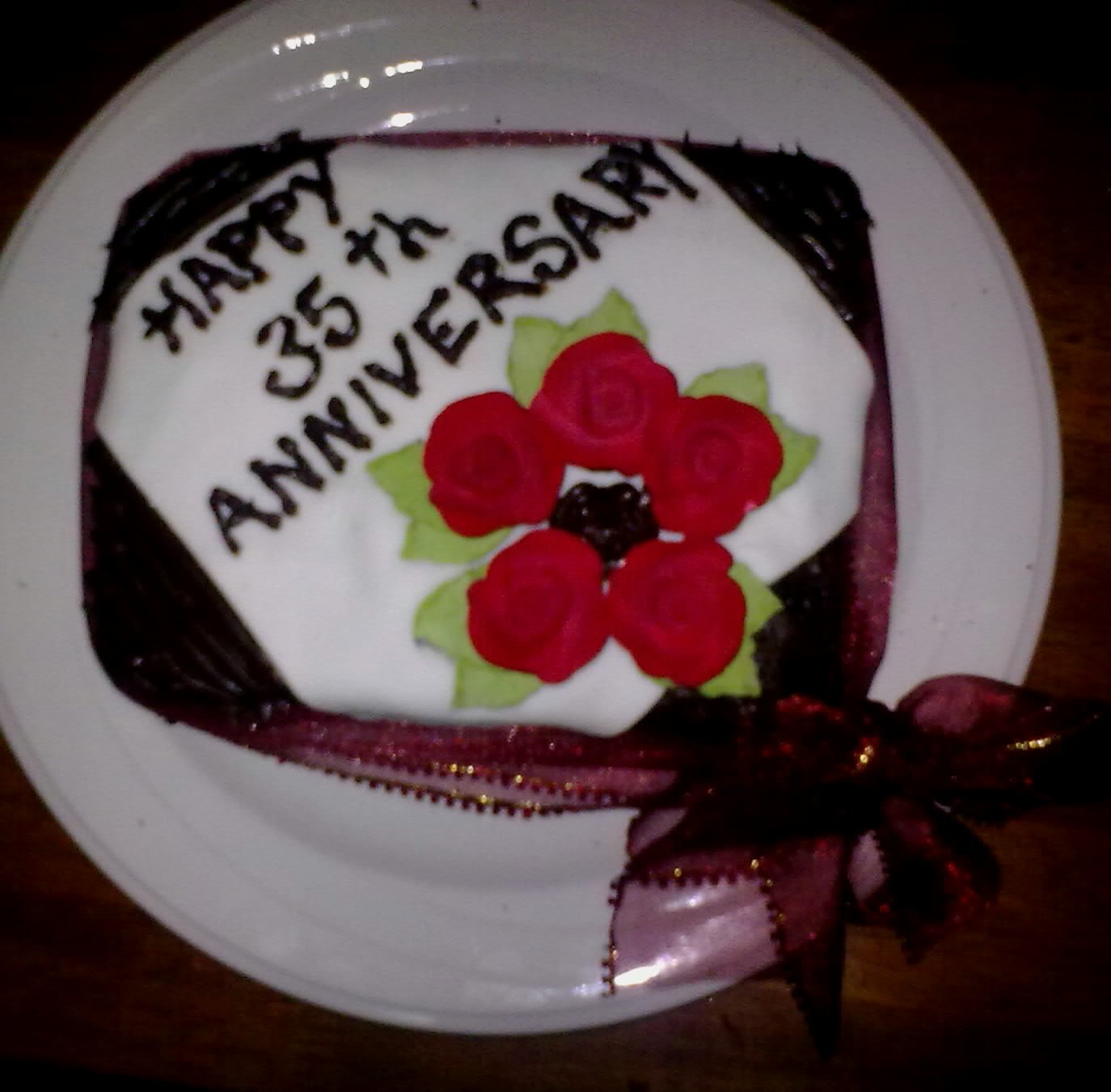 35th Wedding Anniversary Cake Ideas And Designs