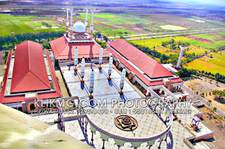 Masjid Agung Jawa Tengah ( MAJT ) - Semarang   Foto oleh Klikmg.com Fotografer Semarang