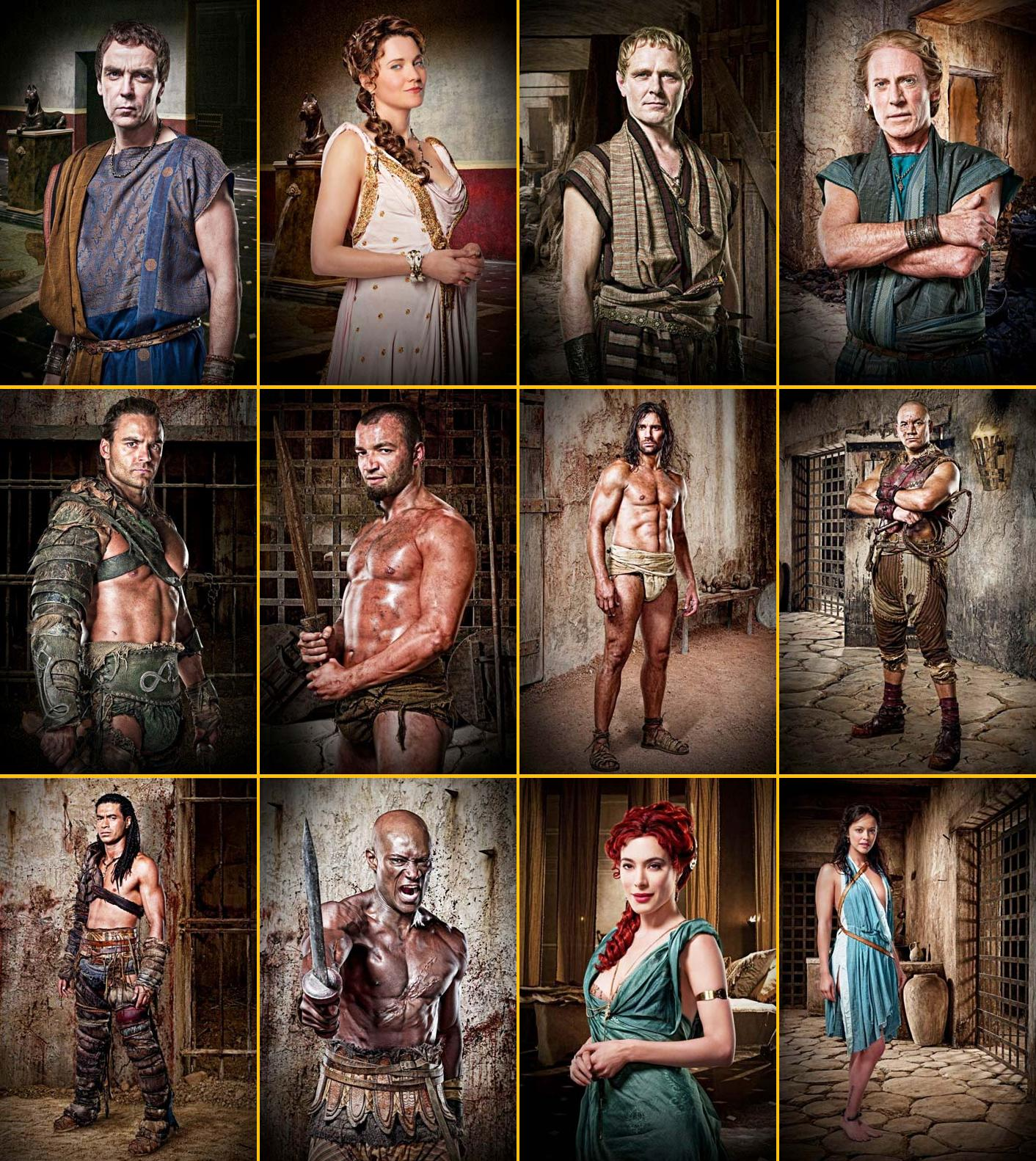 spartacus gods of the arena poster poster 2