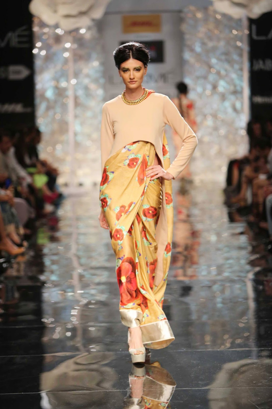 Masaba Gupta's Collection on Day 0 of the Lakme Fashion Week Winter Festive 2014