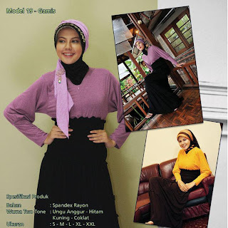 Koleksi Mazaya Muslimah Ungu anggur hitam Kuning coklat