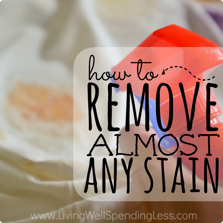 How to Remove Almost Any Stain