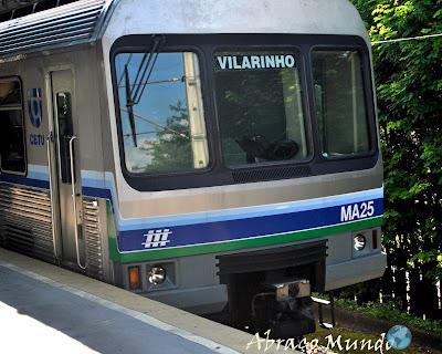 Metrô em Belo Horizonte para Estação Vilarinho