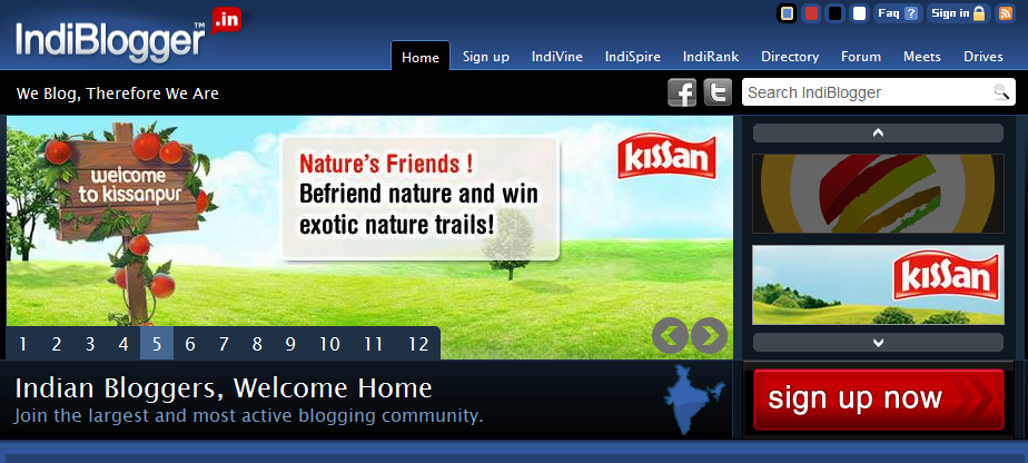 Indiblogger Blog Directory