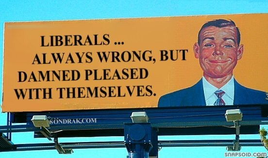 liberals wrong