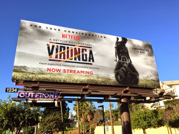 Virunga Netflix documentary billboard
