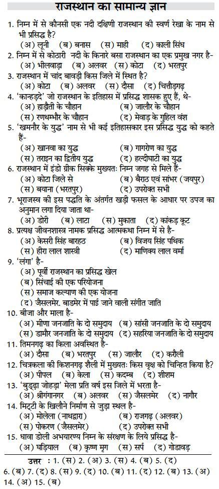 Rajasthan Gk Quiz Html Autos Weblog