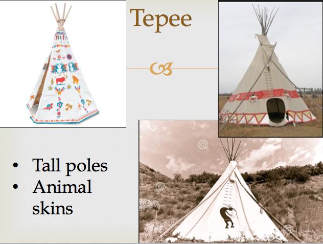 Make native american home model