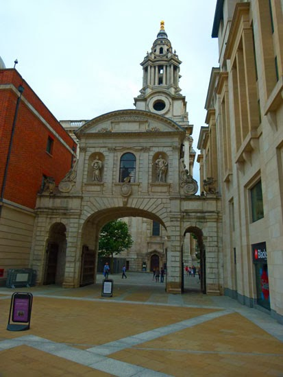 Temple Bar Gate, Paternoster Square, visit London