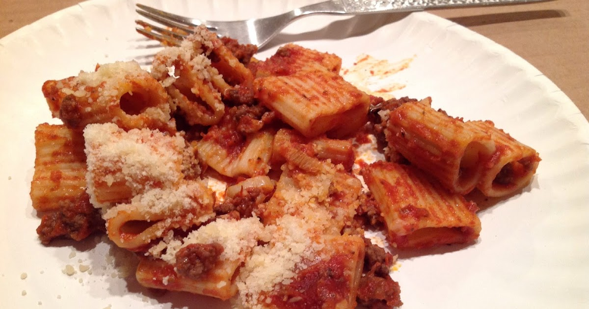 Home On My Range Leftovers In A Fresh House Beef Ragu