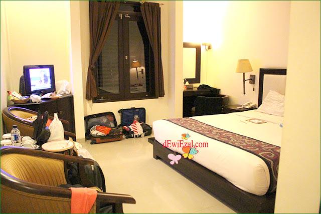 suasana kamar di  Luta resort Rantepao Toraja