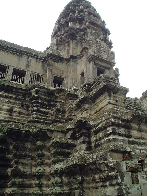 Parte superior Templo de Angkor - Camboya